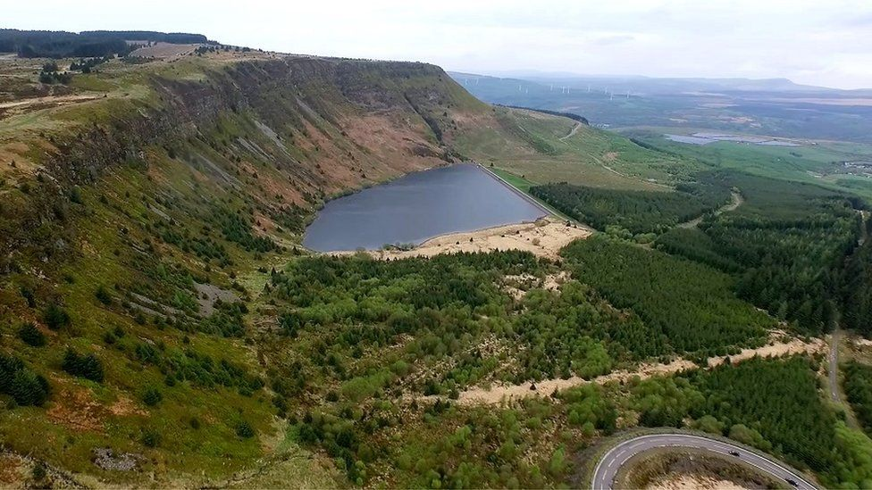 Rhigos - location for proposed zip wire attraction