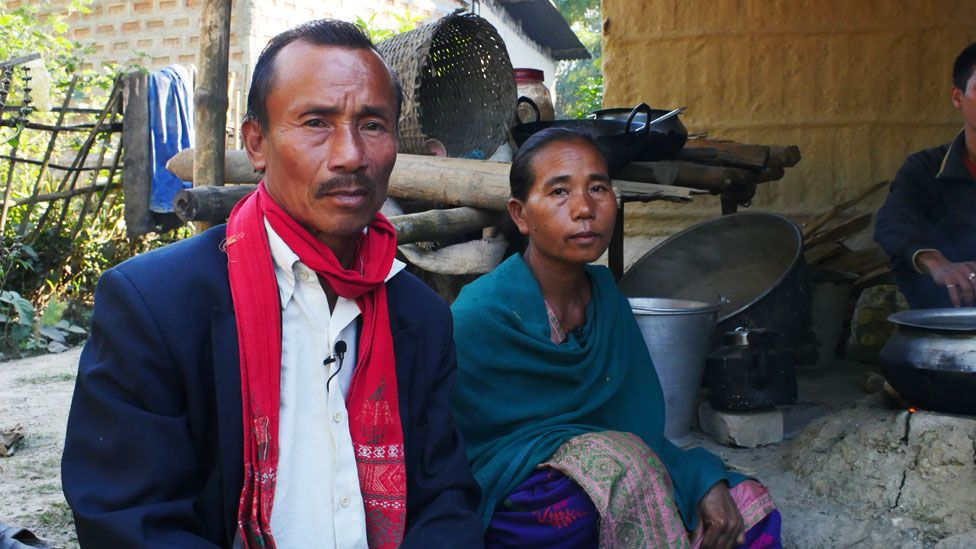 Kachu Kealing and his wife