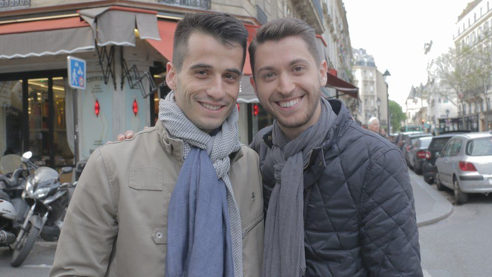 Baptiste and his boyfriend Anthony are both voting Front National
