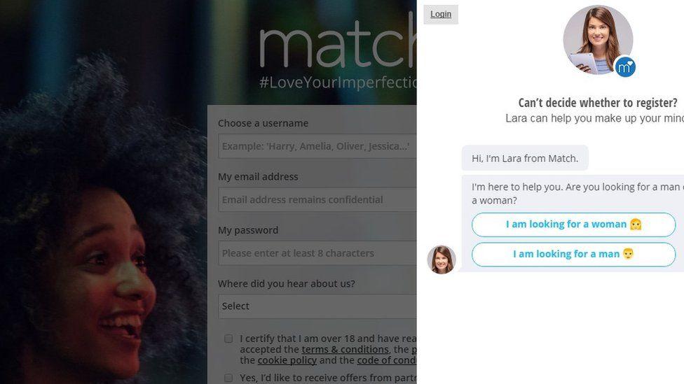 Lara, match.com chatbot