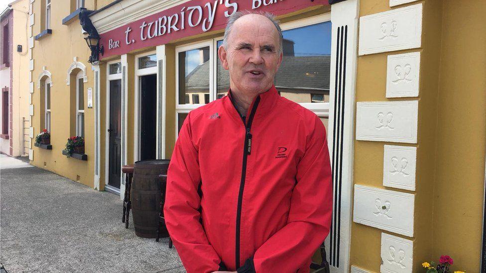 Tommy Tubirdy owns a pub in Doonbeg