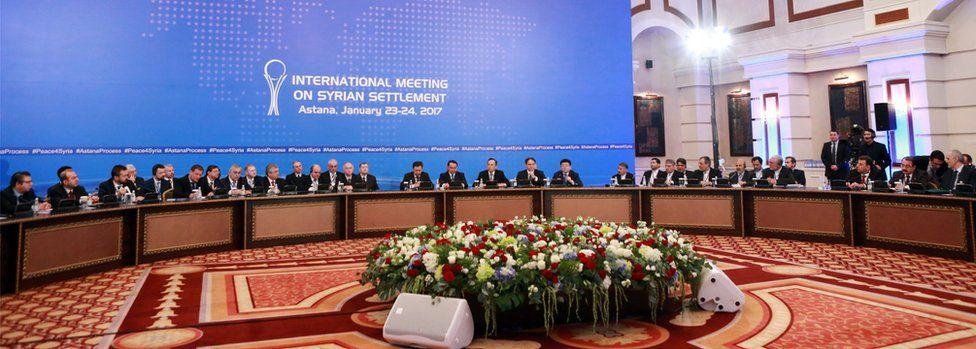 International Meeting on Syrian Settlement meeting in Astana, Kazakhstan (23 January 2017)