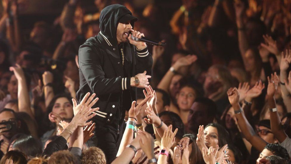Spotify sued over 'billions of Eminem streams'