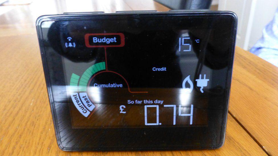 Smart meter, in-home display