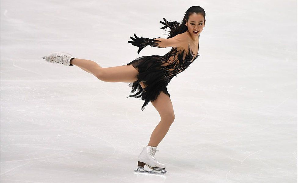 Mao Asada of Japan competes in the ladies' short program during the Japan Figure Skating Championships 2016 on December 24, 2016 in Kadoma, Japan.
