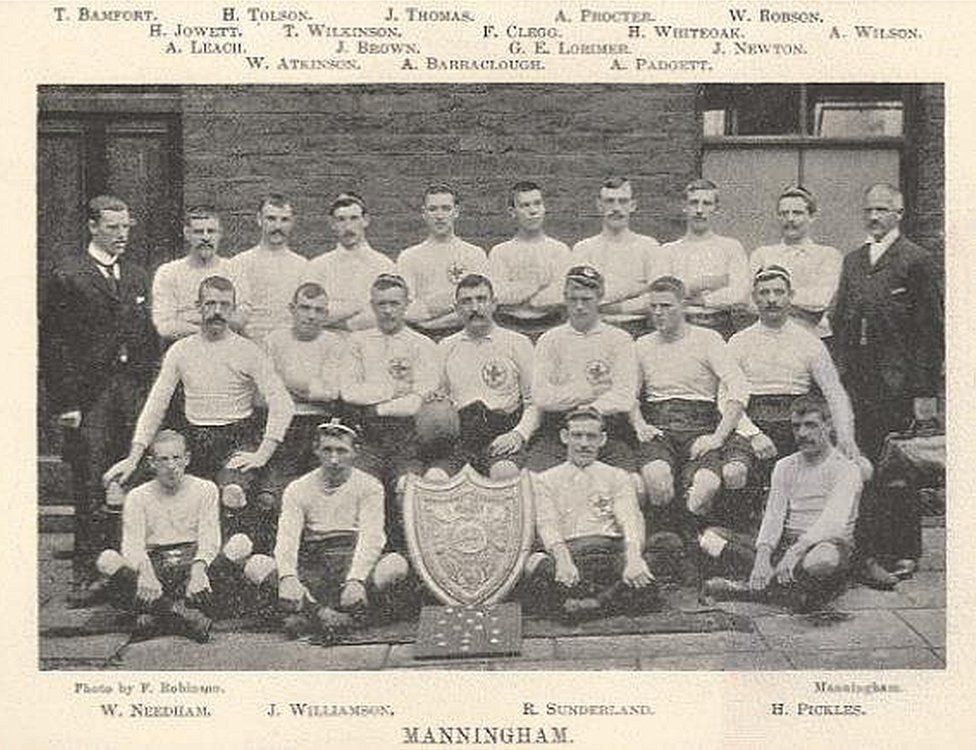 Manningham's 1896 championship winning side