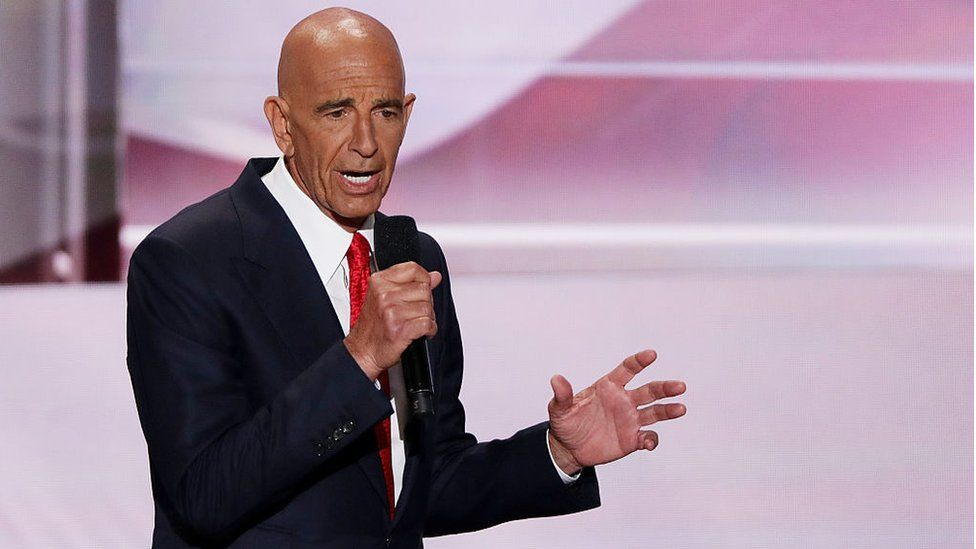 Thomas Barrack: Top Trump aide accused of working as foreign agent thumbnail