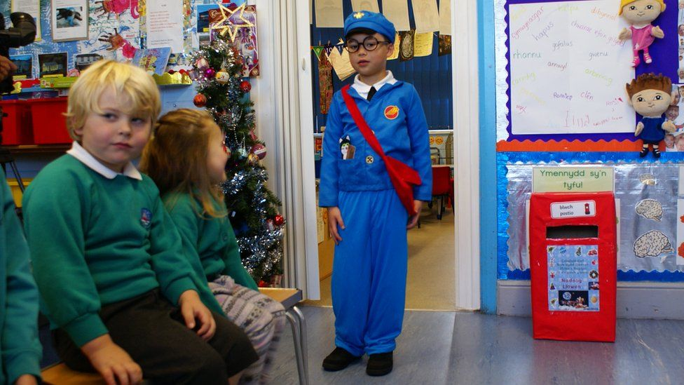 Children in costume