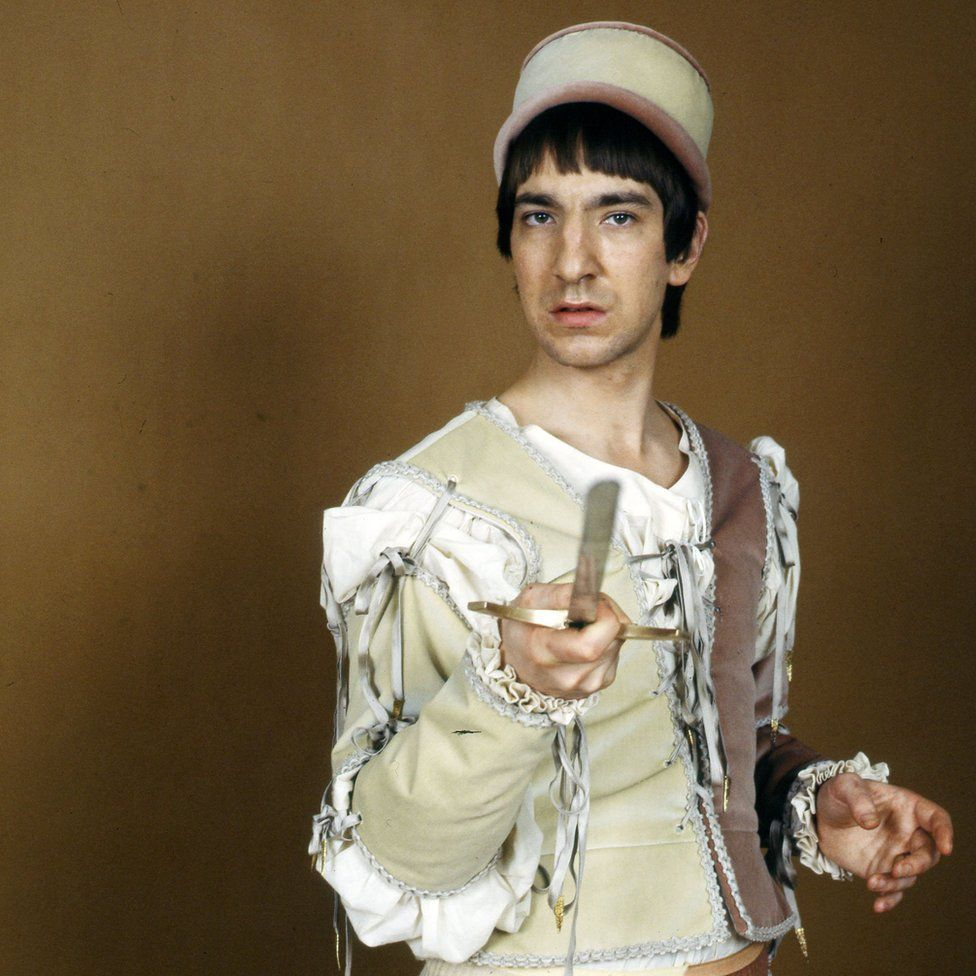 Alan Rickman as Tybalt in Romeo and Juliet