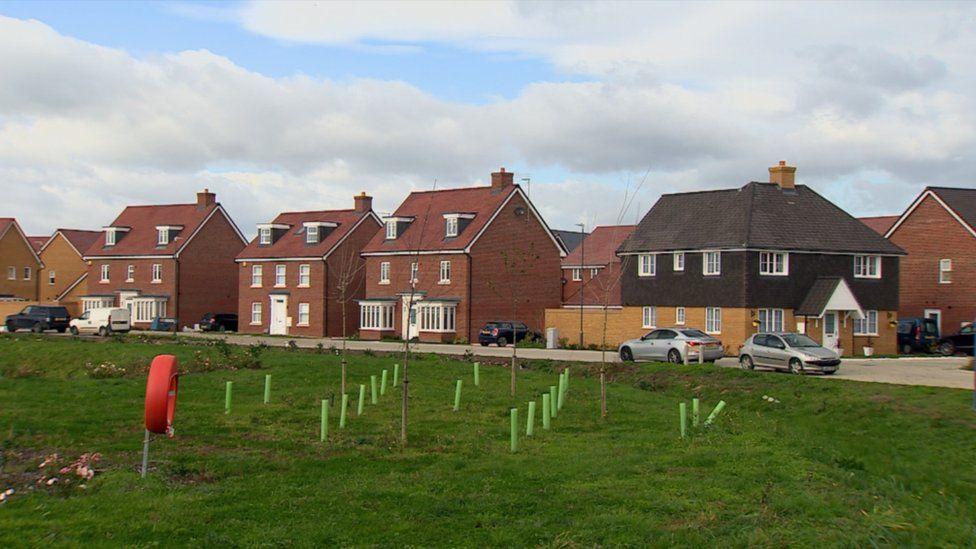 Housing estate Yate