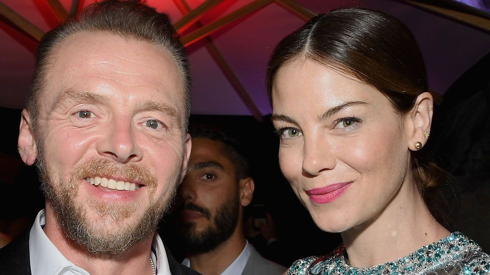 Simon Pegg and Michelle Monaghan