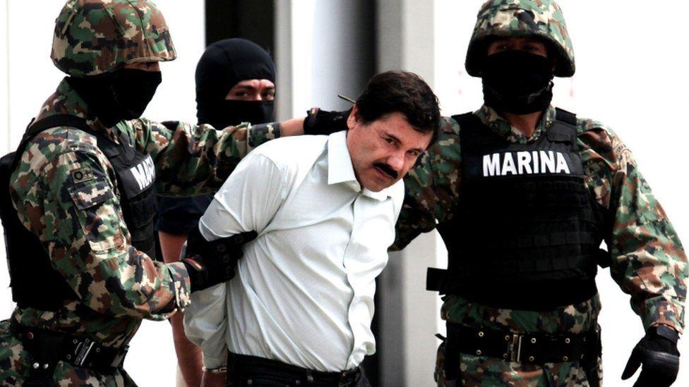 El Chapo Guzman, leader of the Sinaloa Cartel