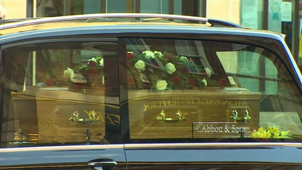 Brian Binley's funeral