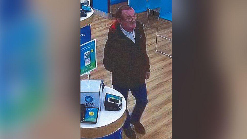 """CCTV image of John """"Jack"""" Williams"""