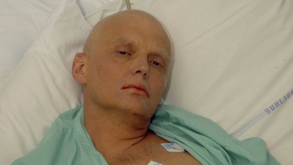 Alexander Litvinenko is pictured at the Intensive Care Unit , ICU of University College Hospital, UCH, on November 20, 2006 in London, England