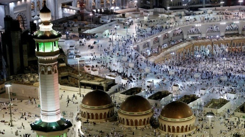 General view of the Grand Mosque in Mecca (09 September 2016)