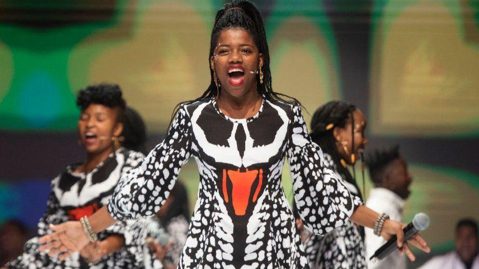 Ndlovu Youth Choir performer
