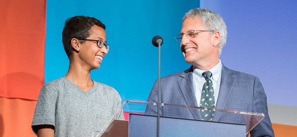 Ahmed and Gary Knel of National Geographic