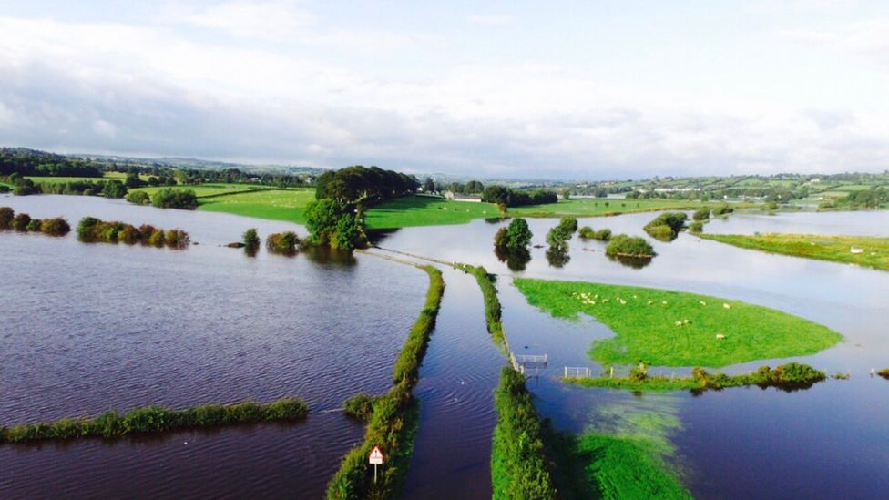 Flooding in County Tyrone