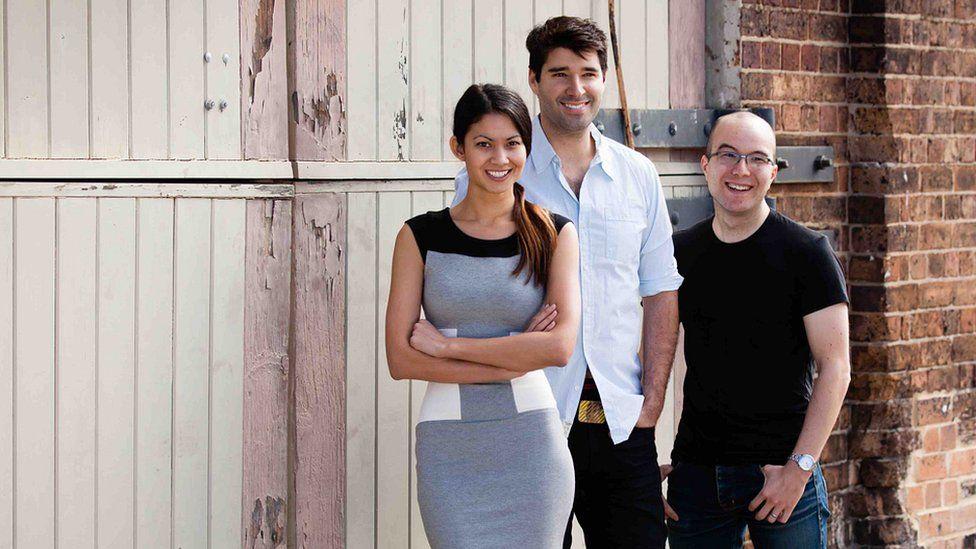 Canva's three founders