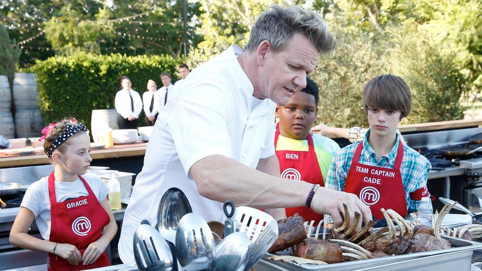 """Gordon Ramsay described Watkins as """"a talented home cook and even stronger young man""""."""