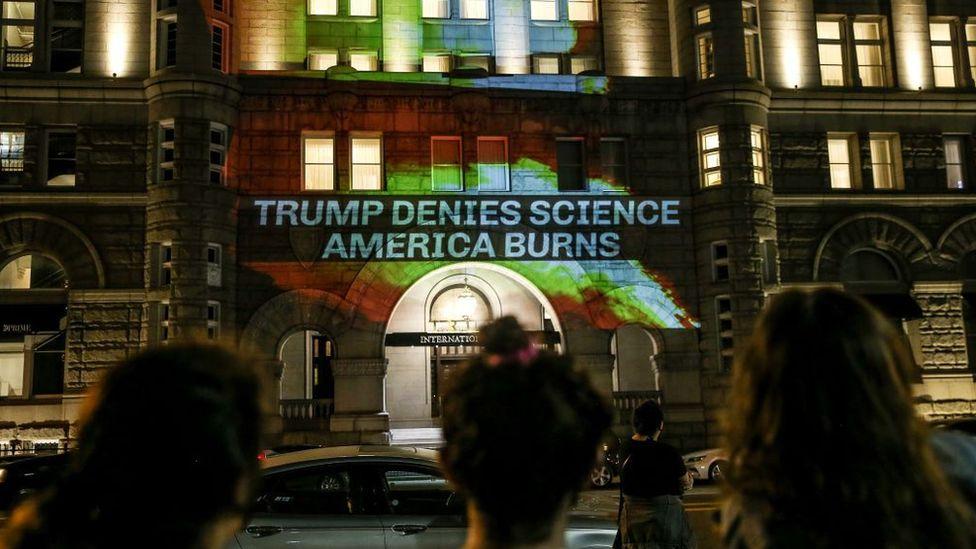 Protesta de Trump