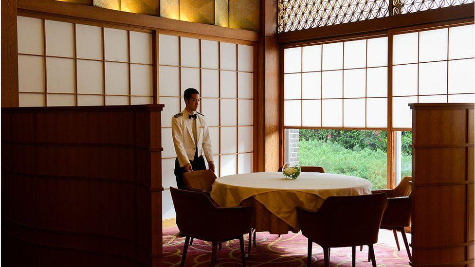 Japanese waiter
