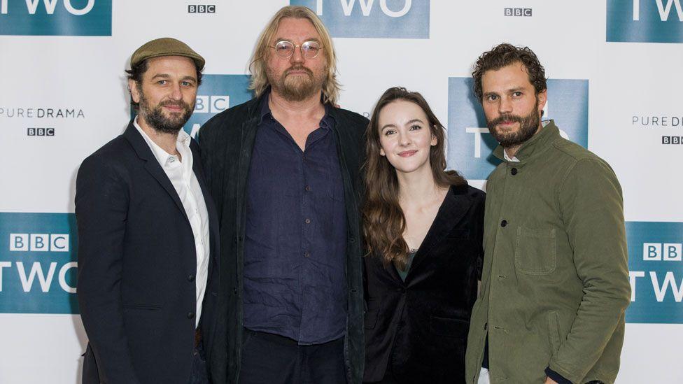 Matthew Rhys, Allan Cubitt, Anne Skelly and Jamie Dornan