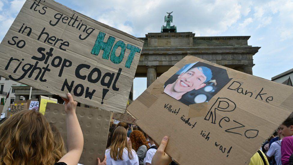 German youth demonstration