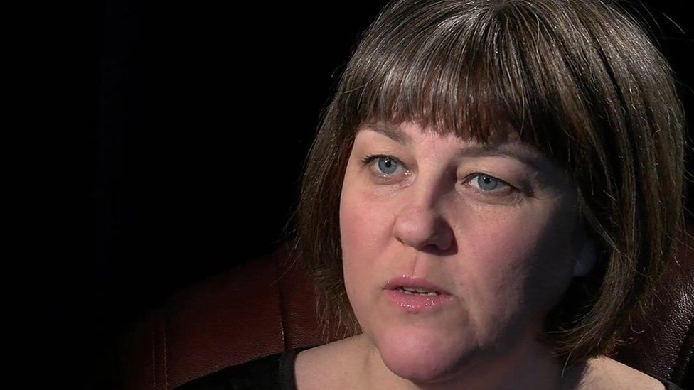 Debbie Lewis sister of murdered John Greenwood