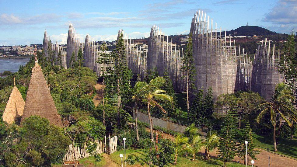 Tjibaou Cultural Centre, Nouméa - file pic