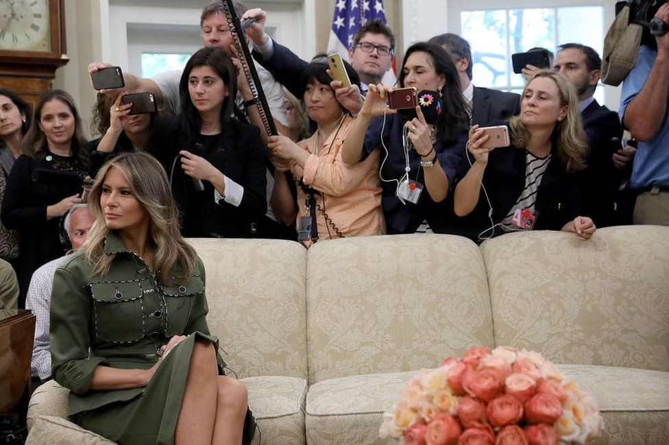 female reporters at the White House