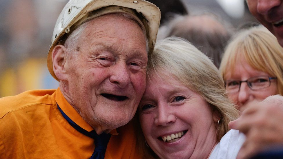 Former miner Billy Huitson, 90,