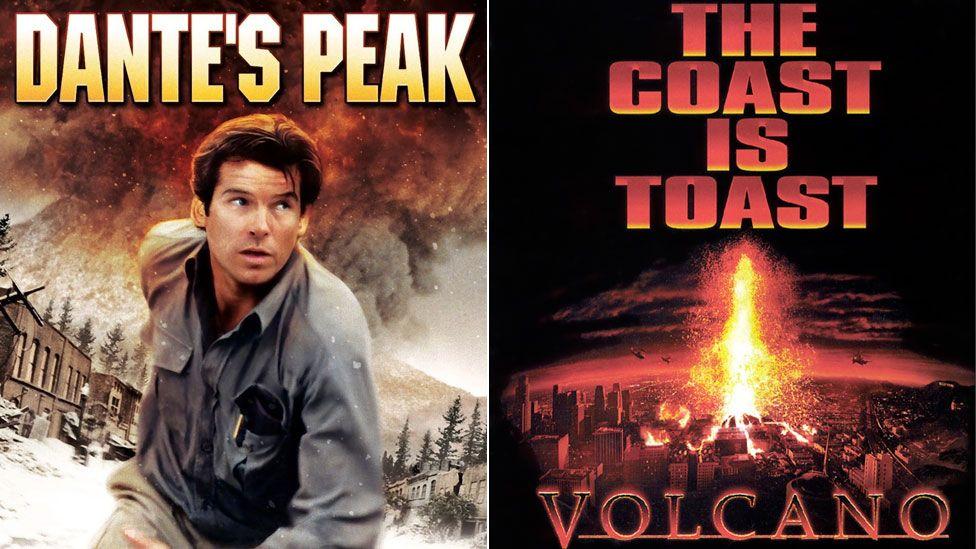 Dante's Peak and Volcano