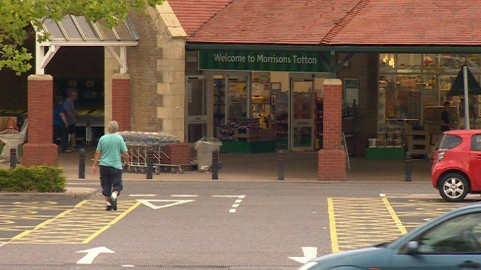 Morrisons in Totton