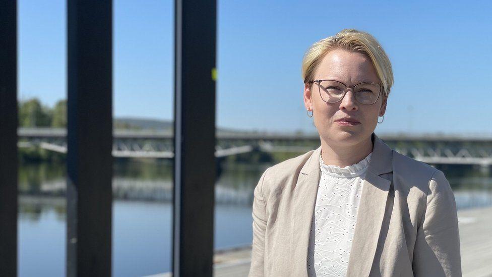 Skellefteå Deputy Mayor Evelina Fahlesson