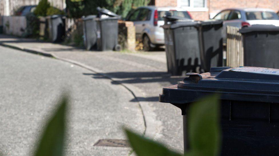 Bins in Colchester, Essex