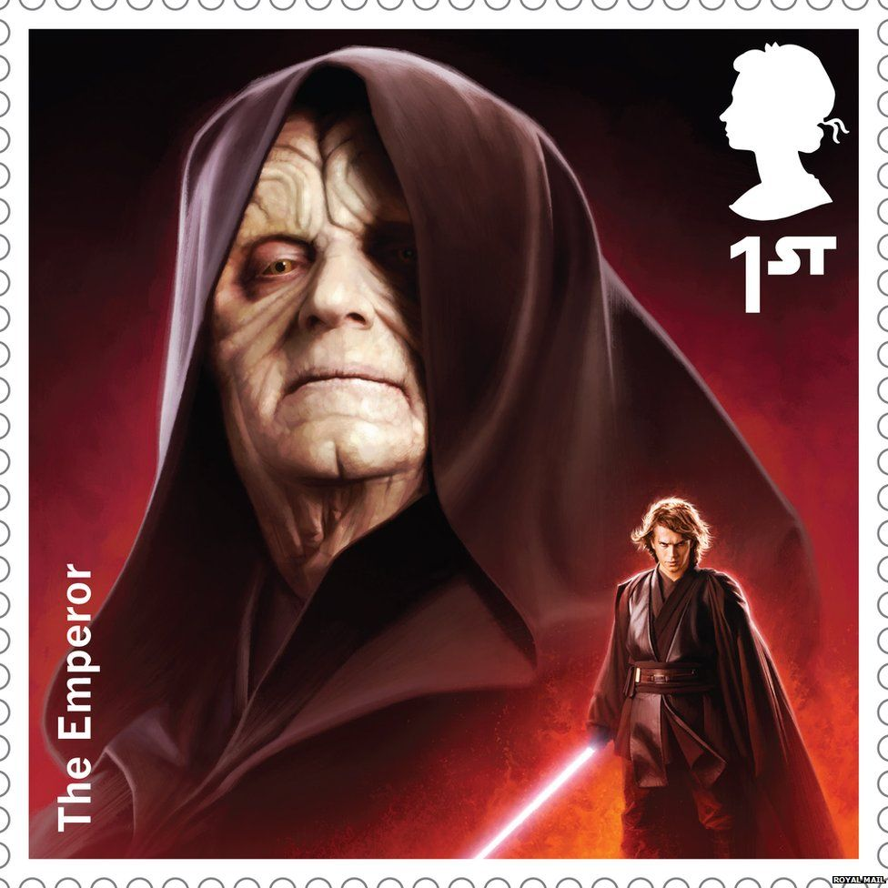 The Emperor stamp