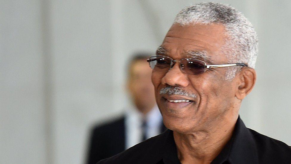 Guyana's President David Granger
