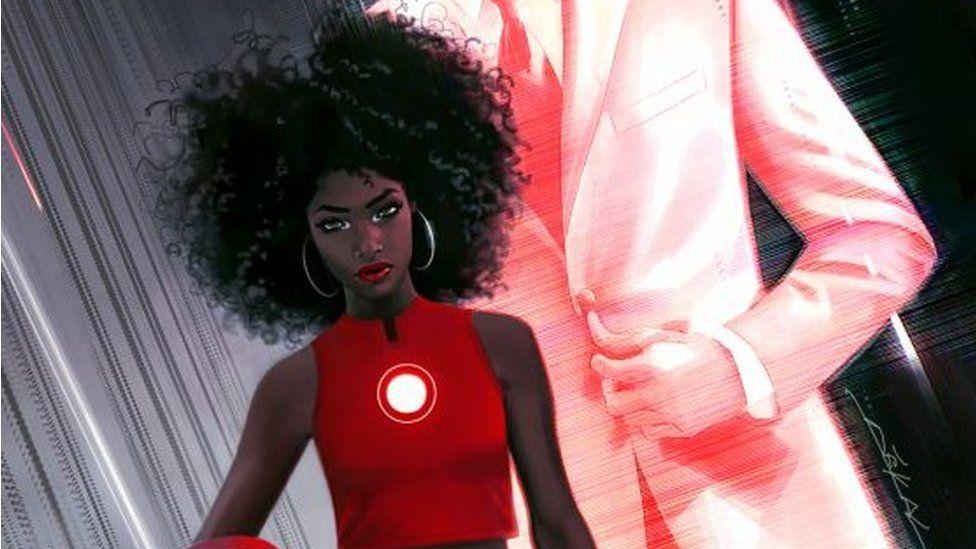 The new Iron Man character, Riri Williams