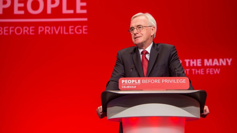 John McDonnell at Labour conference