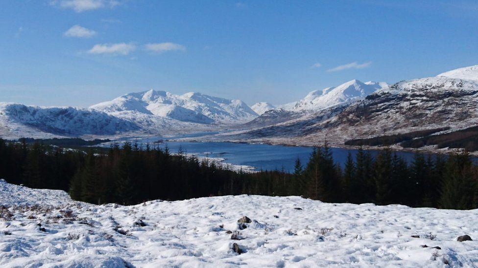 Snowy Glengarry