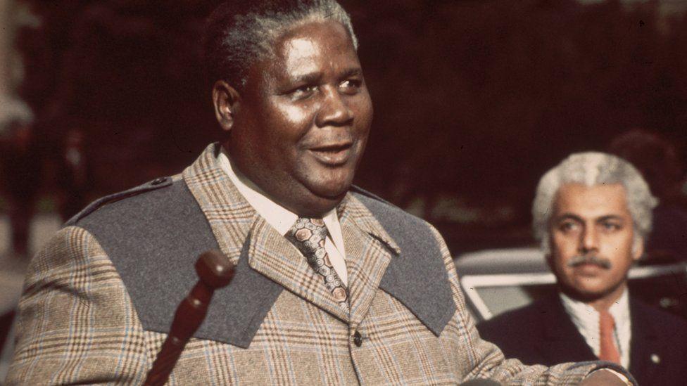 Zimbabwean politician Joshua Nkomo