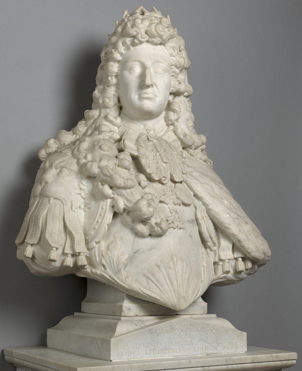 Bust of William III