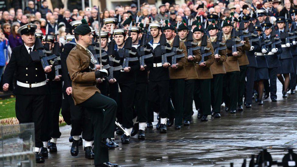 Armistice Day centenary commemorations in Belfast