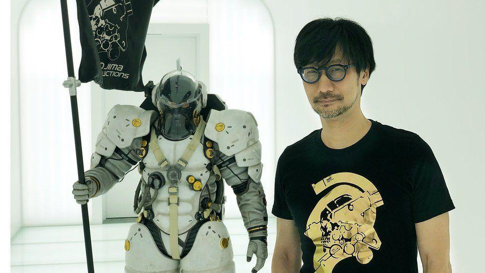 Hideo Kojima at his studio in Tokyo