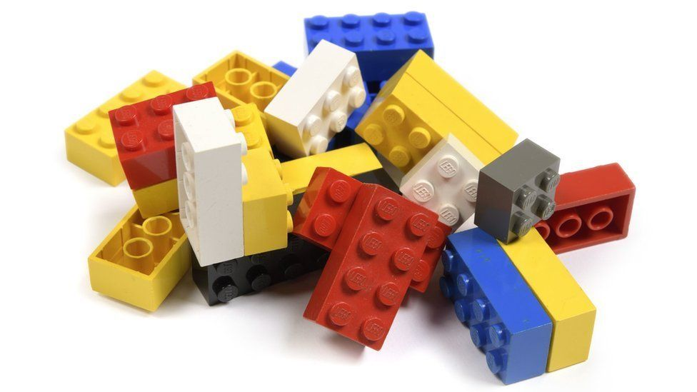 A collection of the Ed Sheeran's childhood Lego