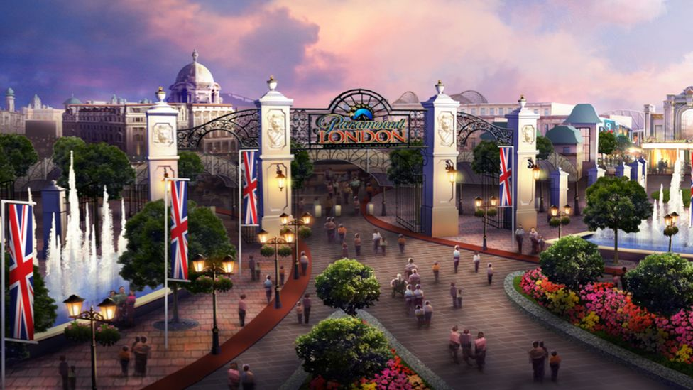 Computer simulation of the new amusement park