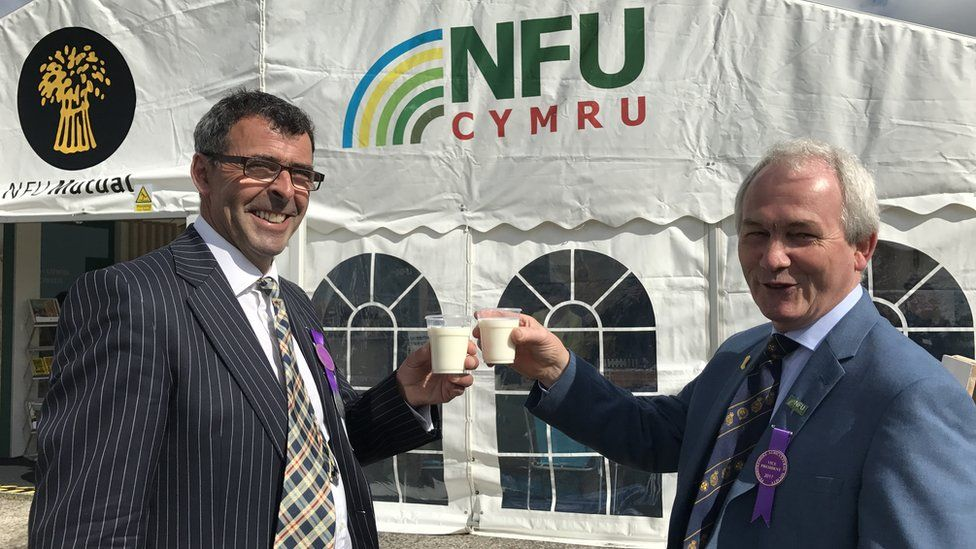 Stephen James and Jeff Evans of the NFU