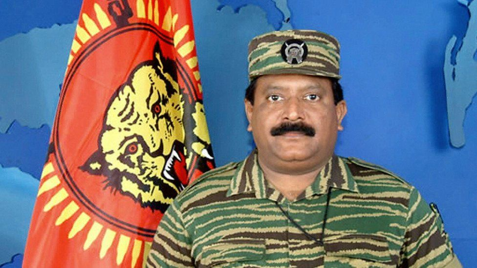 Tamil Tigers leader Velupillai Prabhakaran